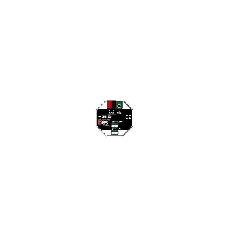 Actuador binario - 4 entradas - 4 salidas SELV - Formato empotrar