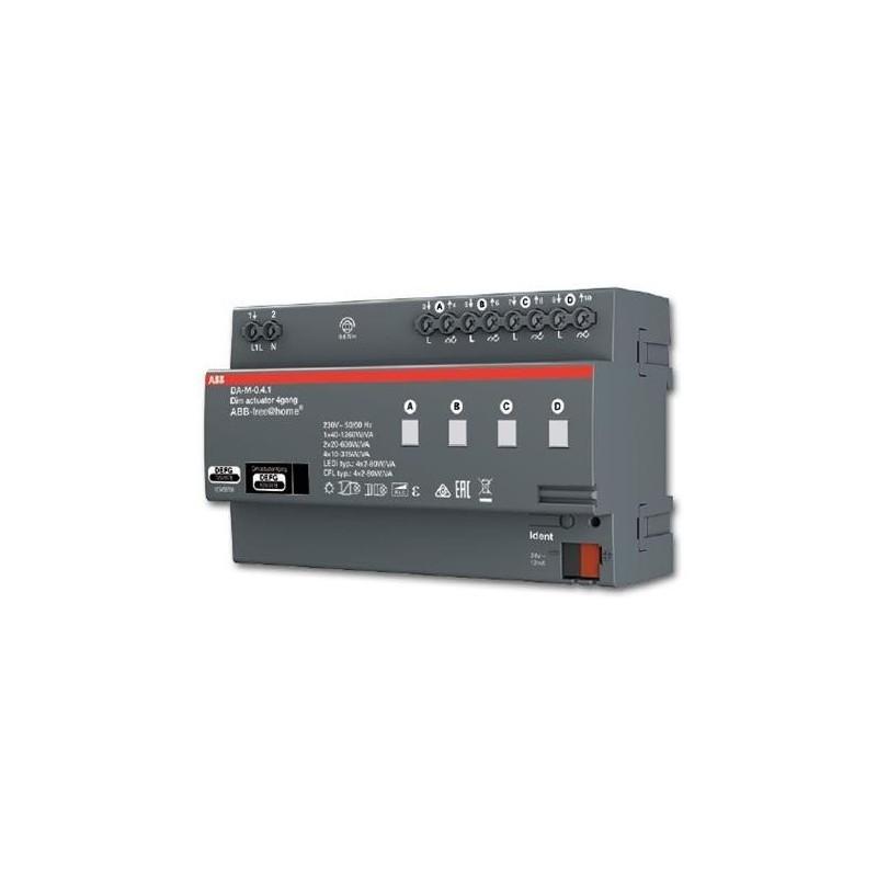 Actuador DIN 4 canales 127V