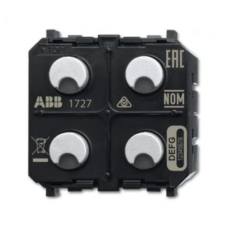 Sensor/actuador pers. 2can./1act.