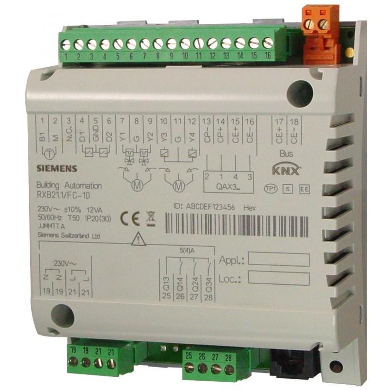RXB22.1/FC-12 - KNX Fan-Coil Controlador
