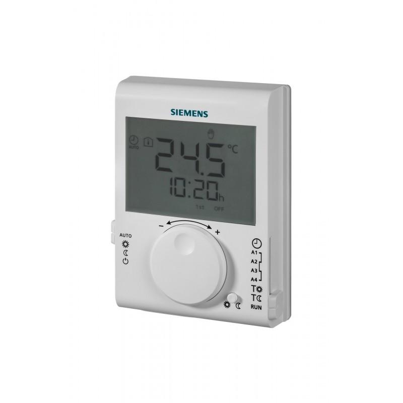 Termostato de ambiente con interruptor de tiempo de 24 horas