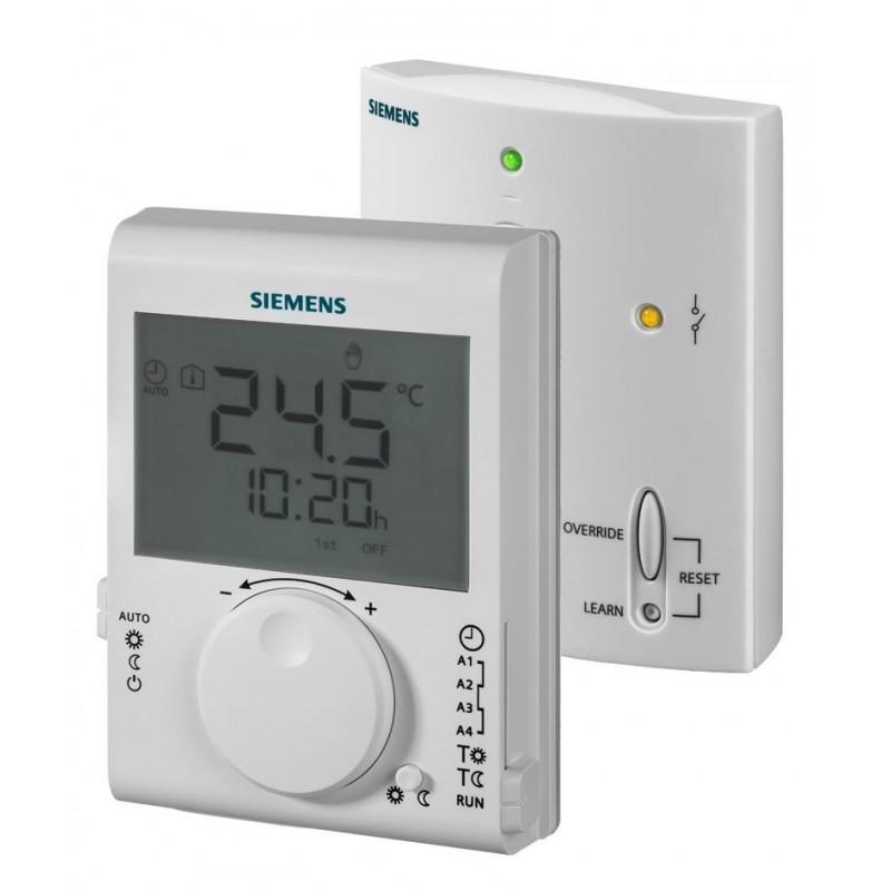 Conjunto de radiofrecuencia del termostato de ambiente con interruptor