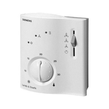 Termostato ambiente para control de temperatura y calidad del aire