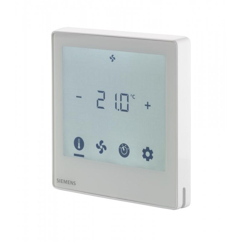 Controlador de ambiente compacto KNX y manejo mediante pantalla táctil