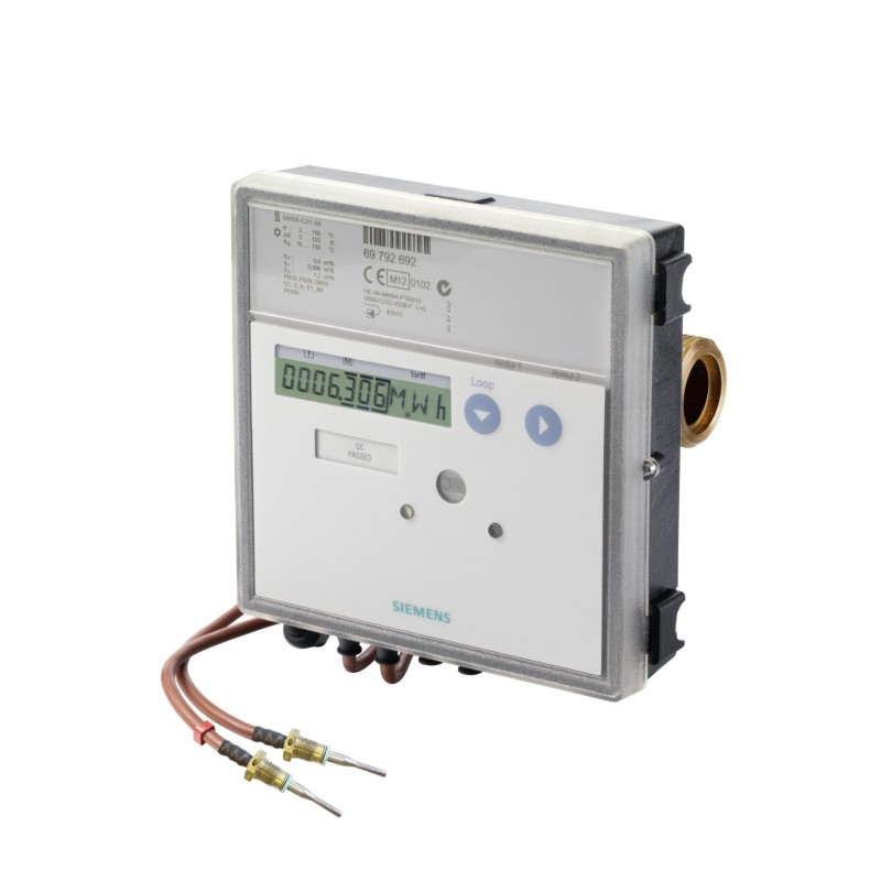 Medidor ultrasónico de calor y calef