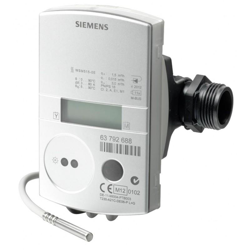 Contador de energía ultrasónico de calefacción con comunicación M-Bus