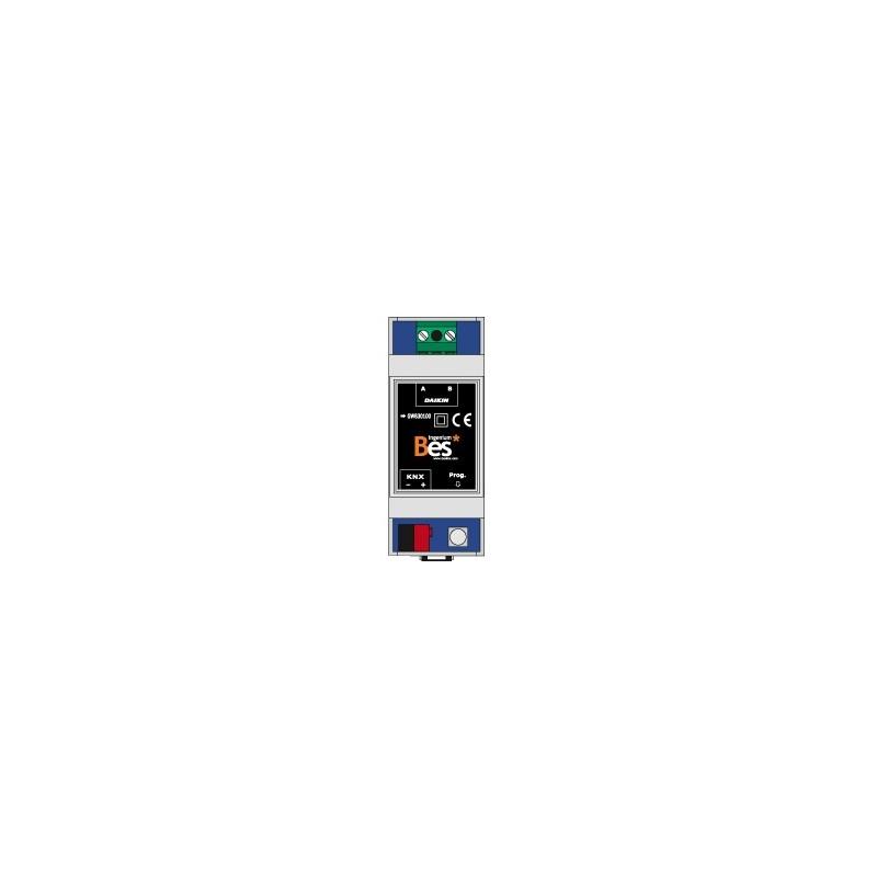 Gateway KNX – MITSUBISHI HVAC - Formato DIN