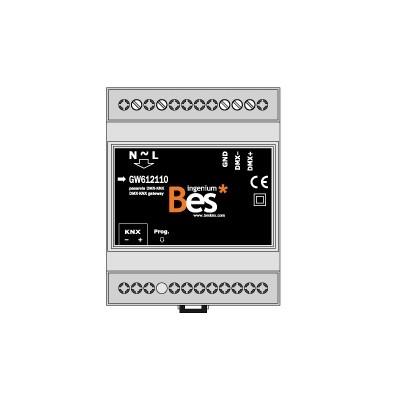 DMXBUS-K - Gateway KNX –...
