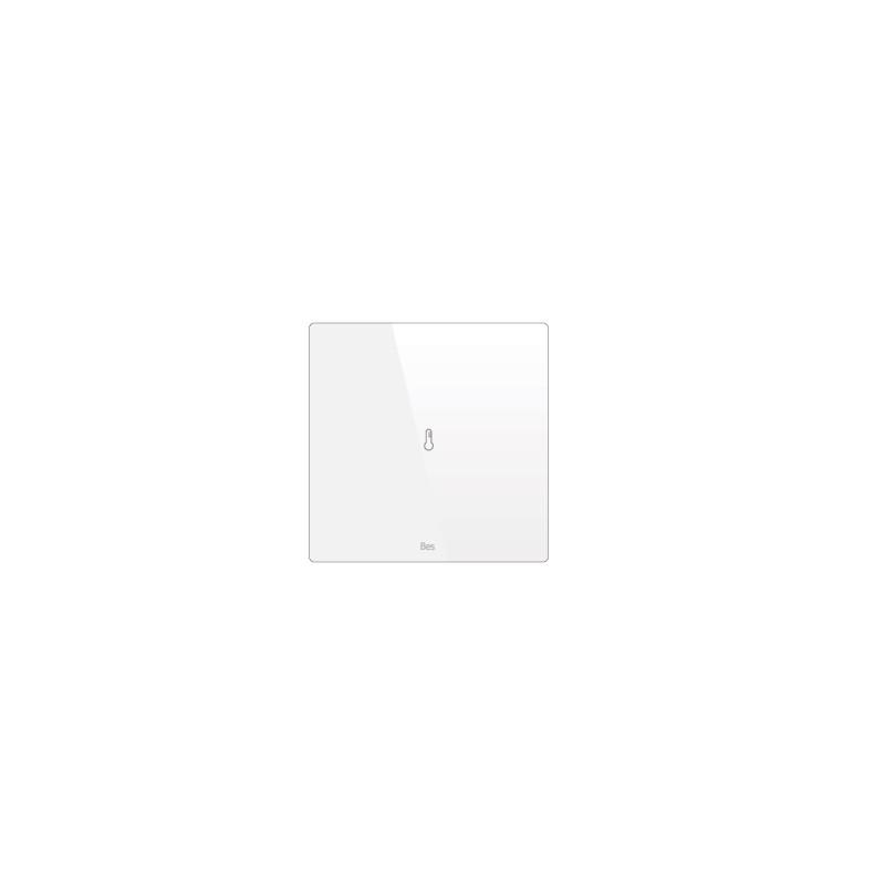 Termostato cuadrado - Sensor temperatura - Blanco