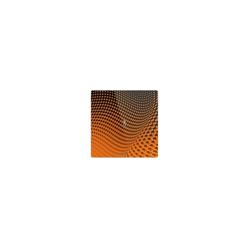 Termostato cuadrado - Sensor temperatura - Blanco personalizado