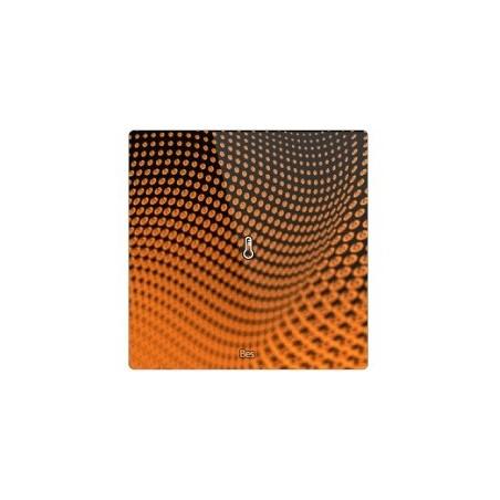 Termostato cuadrado - Sensor temperatura - Negro personalizado