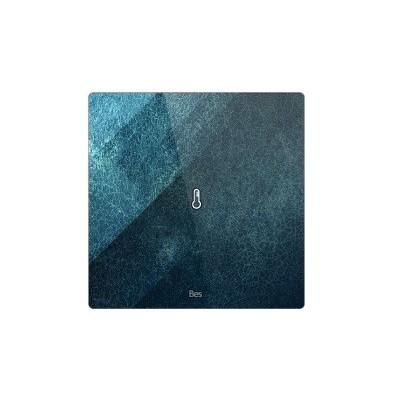 Termostato cuadrado - Sensor temperatura - Negro personalizado intercambiable